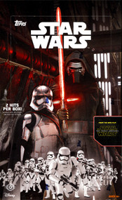 2015 Topps Star Wars The Force Awakens Hobby 12 Box Case