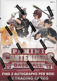 2015 Panini Contenders Baseball Blaster Box