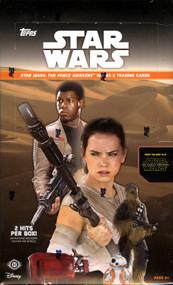 2016 Topps Star Wars The Force Awakens Series 2 Hobby Box