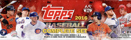 2016 Topps  Baseball Complete Factory Hobby Set