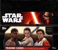 2015 Topps Star Wars Force Awakens SE Special Hobby Ed Box