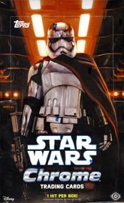2016 Topps Star Wars The Force Awakens Chrome Hobby Box