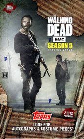 2016 Topps The Walking Dead Season 5 Trading Cards  Hobby Box