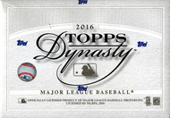 2016 Topps Dynasty Baseball Hobby Box
