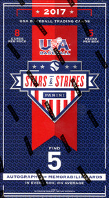 2017 Panini Stars and Stripes USA Baseball Hobby Box