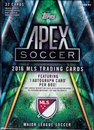 2016 Topps Apex Soccer Blaster Box