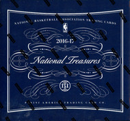 2016/17 Panini National Treasures Basketball Hobby 4 Box Case