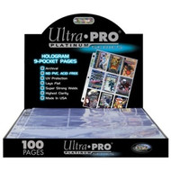 Ultra Pro Platinum 9 Pocket Pages - 100ct Box
