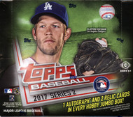 2017 Topps Series 2 Baseball Jumbo HTA Box