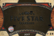 2017 Topps Five Star Baseball Hobby Box