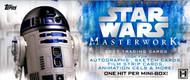 2017 Topps Star Wars Masterwork Hobby 8 Box Case