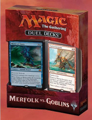 Magic the Gathering Merfolk Vs. Goblins Duel Deck