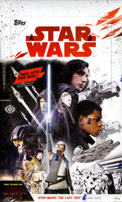 2017 Topps Star Wars The Last Jedi Hobby Box