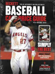 Beckett Baseball Card 2019 Annual Price Guide #41 41st Edition