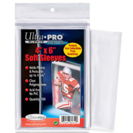 "Ultra Pro 4"" x 6"" Sleeves"