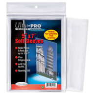 "Ultra Pro 5"" X 7"" Sleeves"