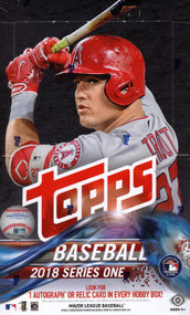 2018 Topps Series 1 Baseball Hobby 12 Box Case + 12 Silver Pack