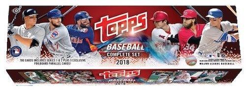 2018 Topps Baseball Complete Hobby Factory Set