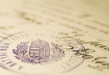 ARMENIA CERTIFIED OFFICIAL DOCUMENT