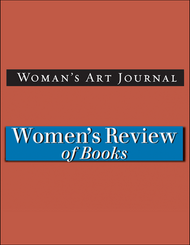Woman's Art Journal/Women's Review of Books combo deal