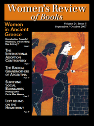 Women's Review of Books Volume 24, Issue 5 (PDF)