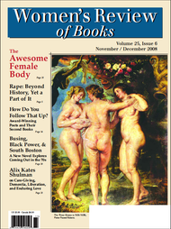Women's Review of Books Volume 25, Issue 6 (PDF)