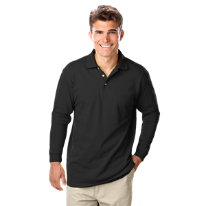 Superblend L/S Pocketed Polo
