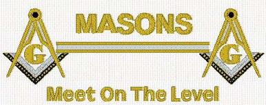 Masons Meet on the Level