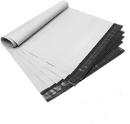 MFLABEL 100 Pack 10X13 Poly Mailers Shipping Bags White Shipping Mailing Envelopes Bags 2.5 Mil Thick