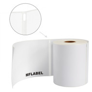 MFLABEL®  6  Rolls 1744907 Shipping Labels Compatible Dymo LabelWriter 4XL