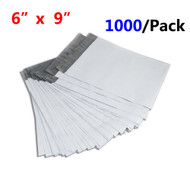 "MFLABEL® Free Shipping 1000pcs 6 x 9"" White Poly Mailers Bag 4 MIL Thickness Factory Outlet"