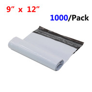 "MFLABEL® Free Shipping 1000pcs 9 x 12"" White Poly Mailers Bag 4 MIL Thickness Factory Outlet"