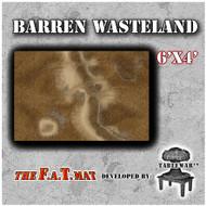 6x4 'Barren Wasteland' F.A.T. Mat Gaming Mat