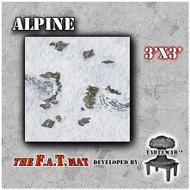 3x3 'Alpine' F.A.T. Mat Gaming Mat