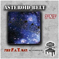3x3 'Asteroid Belt' F.A.T. Mat Gaming Mat