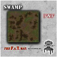 3x3 'Swamp' F.A.T. Mat Gaming Mat