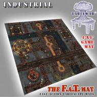 4x4 'Industrial' F.A.T. Mat Gaming Mat