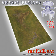 6x3 'Grassy Plains 2' F.A.T. Mat Gaming Mat