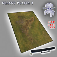 4x3 'Grassy Plains 2' F.A.T. Mat Gaming Mat