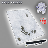 4x3 'Snow Planet' F.A.T. Mat Gaming Mat