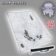 4x3 'Snow Planet' F.A.T. Mat Gaming Mat