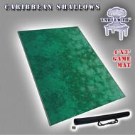 4x3 'Caribbean Shallows  (lighter ocean)
