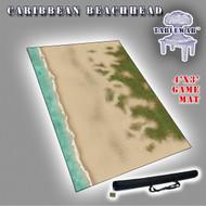 4x3 'Caribbean Beachhead (Land mass + small shoreline)