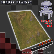 "60x44"" 'Grassy Plains 2' F.A.T. Mat Gaming Mat"