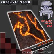 "60x44"" 'Volcanic Tomb' F.A.T. Mat Gaming Mat"