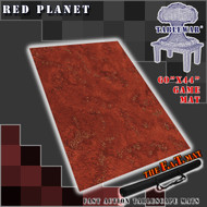 "60x44"" 'Red Planet' F.A.T. Mat Gaming Mat"
