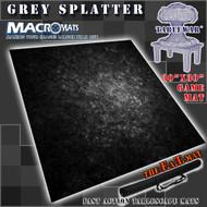 """30x30"""" Gray Splatter MacroMat"""