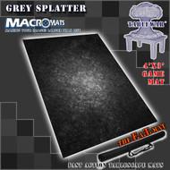4x3' Gray Splatter MacroMat