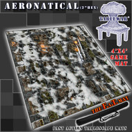4x4 'Aeronatical with Hex' F.A.T. Mat Gaming Mat