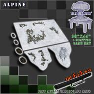 """30x44"""" 'Alpine' + Scatter Terran F.A.T. Mat Gaming Mat"""